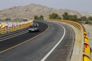 افتتاح بزرگراه در هرمزگان