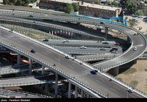تعداد پل های تهران
